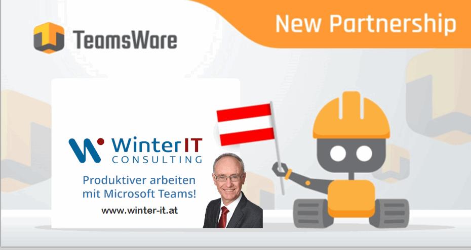 Partnerschaft Winter IT mit TeamsWare