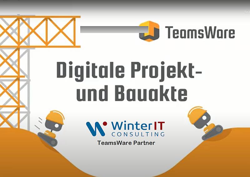 TeamsWare - Projekt und Bauakte für Microsoft Teams